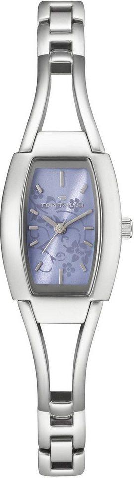 Tom Tailor Armbanduhr, »5401207« in silberfarben-blau
