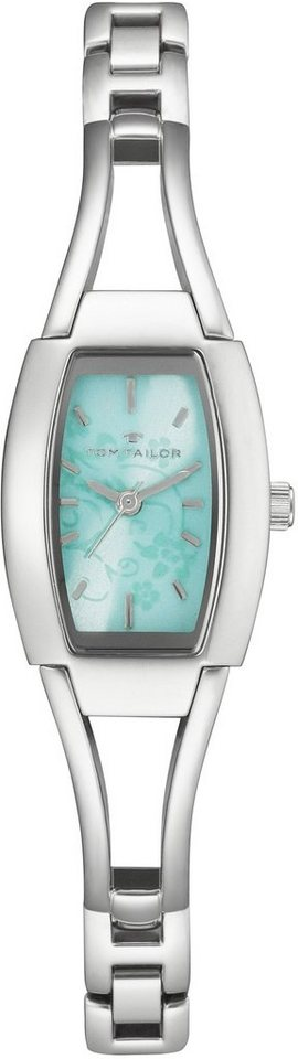 Tom Tailor Armbanduhr, »5401209« in silberfarben-mint