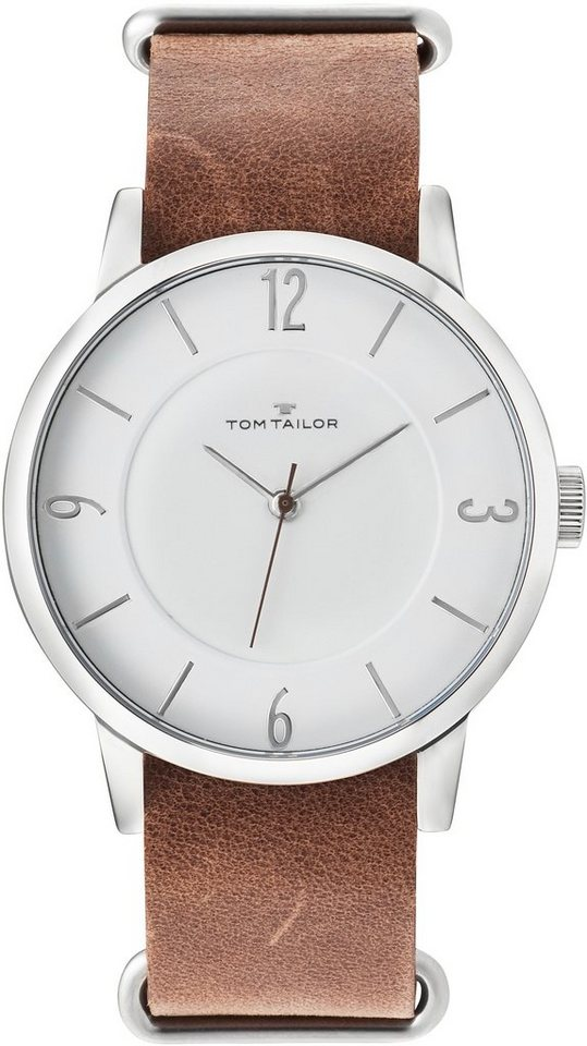 Tom Tailor Armbanduhr, »5416903« in braun