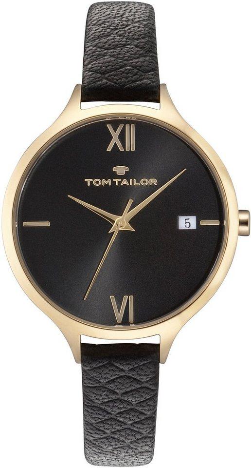 Tom Tailor Armbanduhr, »5416001« in schwarz