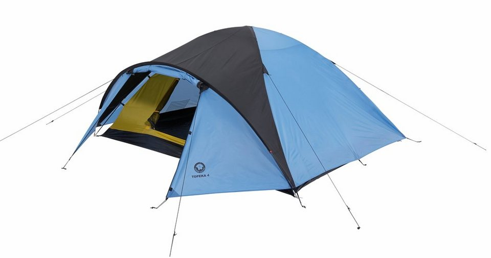 Grand Canyon Zelt »Topeka 4 Tent« in blau