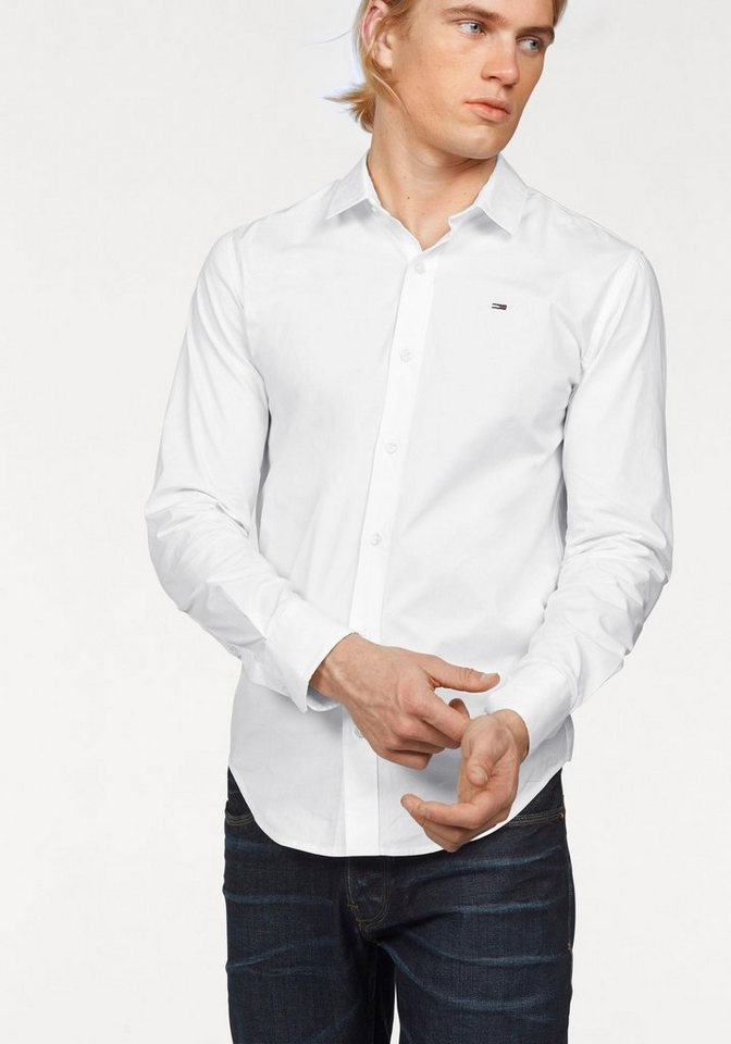 Hilfiger Denim Hemd »Sabim Shirt« in weiß