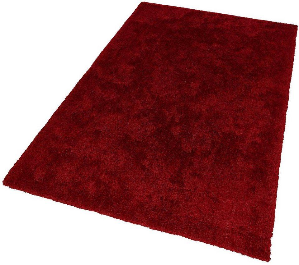 Hochflor-Teppich, Schöner Wohnen, »Vitality«, Höhe 30 mm, getuftet in rot