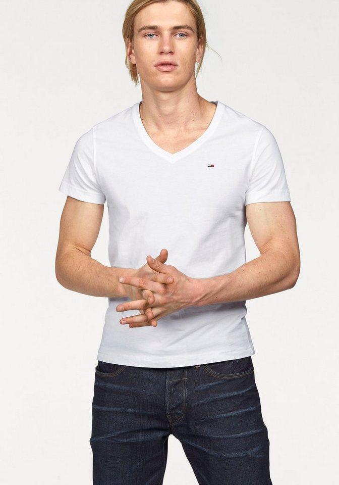 Hilfiger Denim T-Shirt »Panson« in weiß