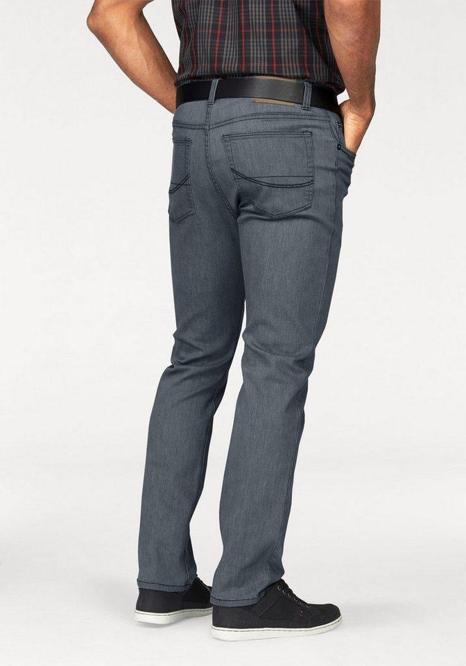 Man's World Stretch-Jeans in super flexibler Qualität in grau
