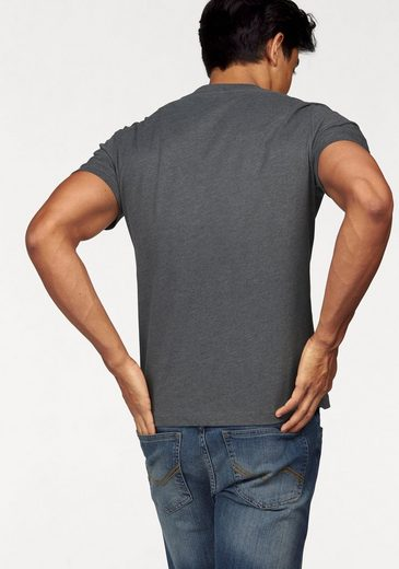 Rhode Island T-Shirt, mit Used-Print