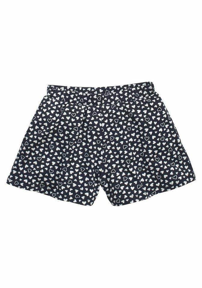 kidsworld Shorts, für Mädchen in Gemustert