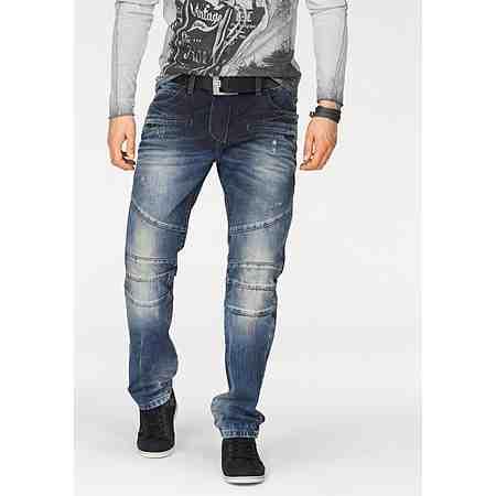 Cipo & Baxx Loose-fit-Jeans »CD252« mit Teilungsnähten