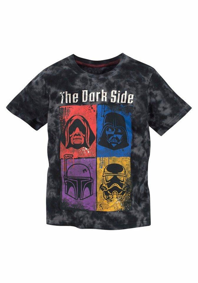 """Star Wars T-Shirt """"The Dark Side"""" in schwarz"""