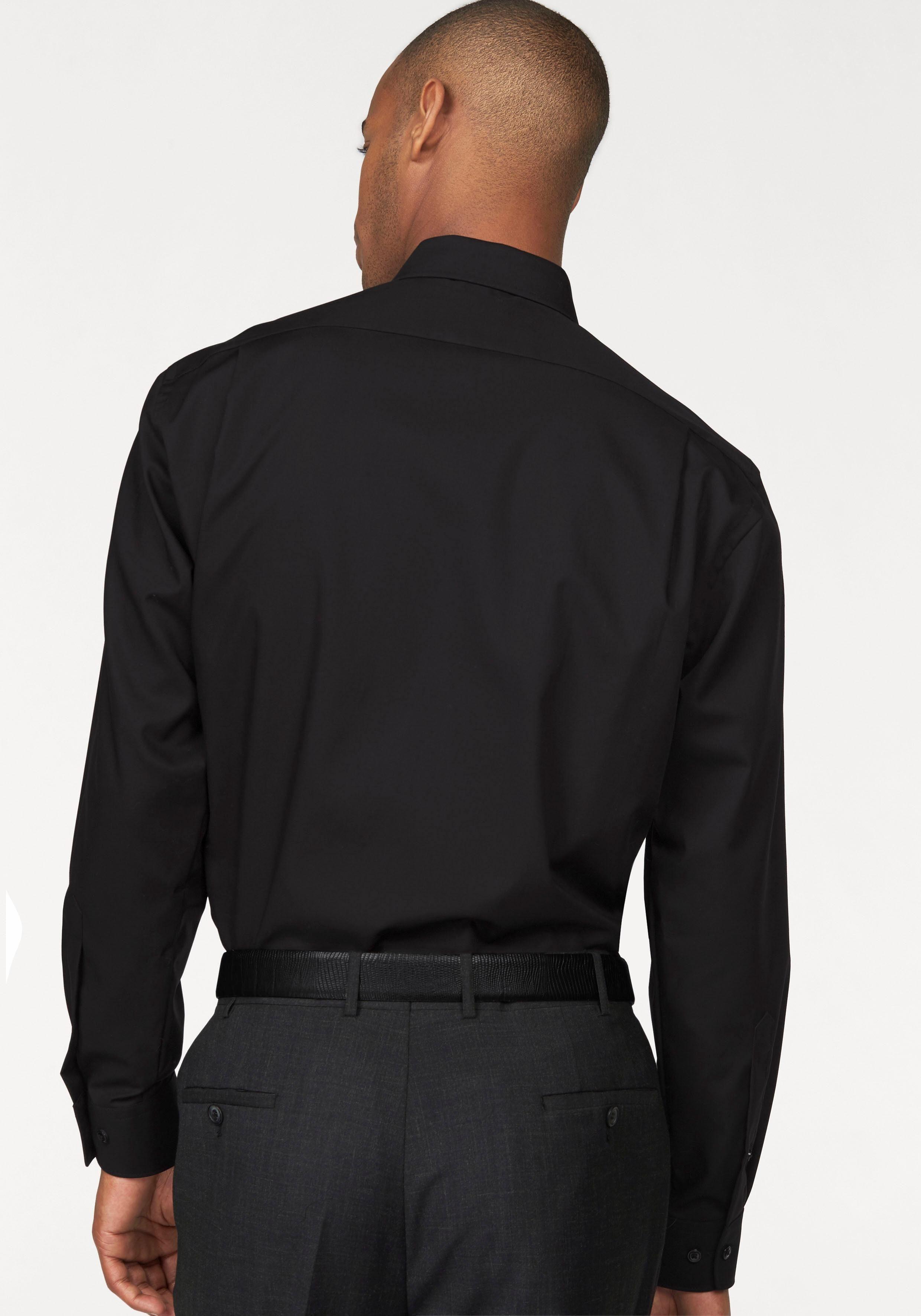 Fit« Extra Olymp Bügelfrei Mit Ärmel Modern Lange »luxor Brusttasche Businesshemd tIS1wpqSx