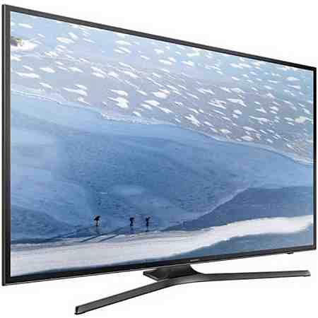 Samsung UE55KU6079UXZG, LED Fernseher, 138 cm (55 Zoll), 2160p (4K Ultra HD), Smart-TV