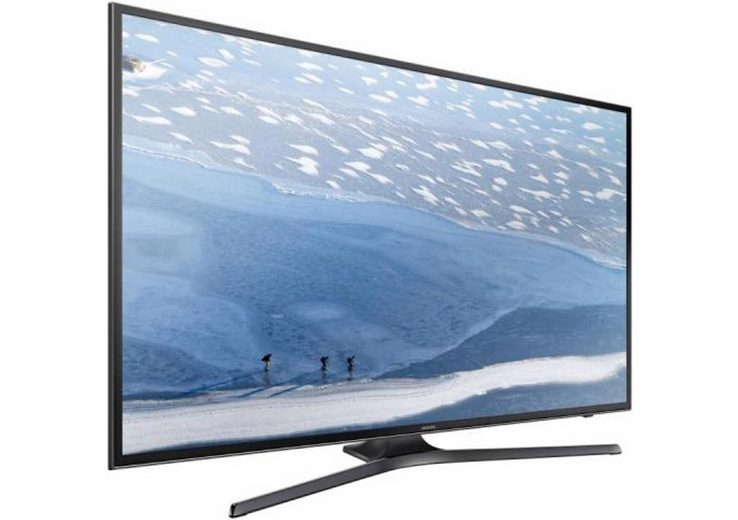 Samsung UE50KU6079, LED Fernseher, 125 cm (50 Zoll), 2160p (4K Ultra HD), Smart-TV