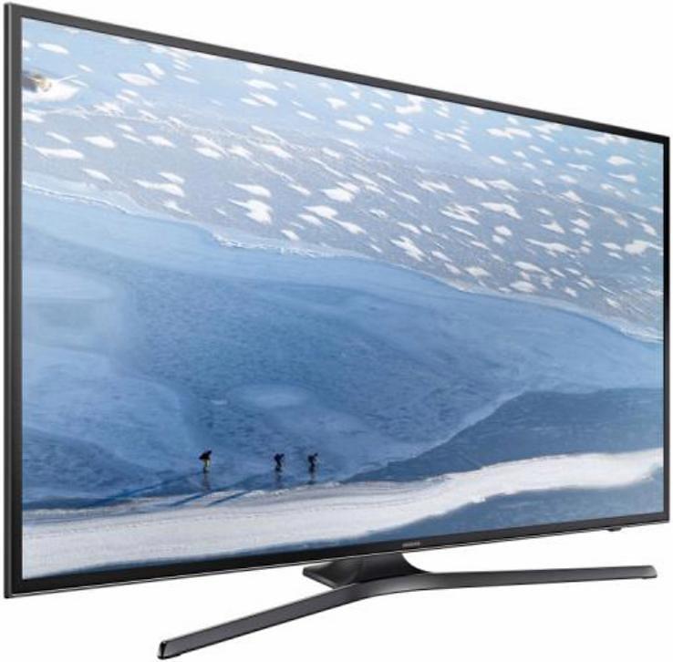 Samsung UE43KU6079UXZG, LED Fernseher, 108 cm (43 Zoll), 2160p (4K Ultra HD), Smart-TV in schwarz