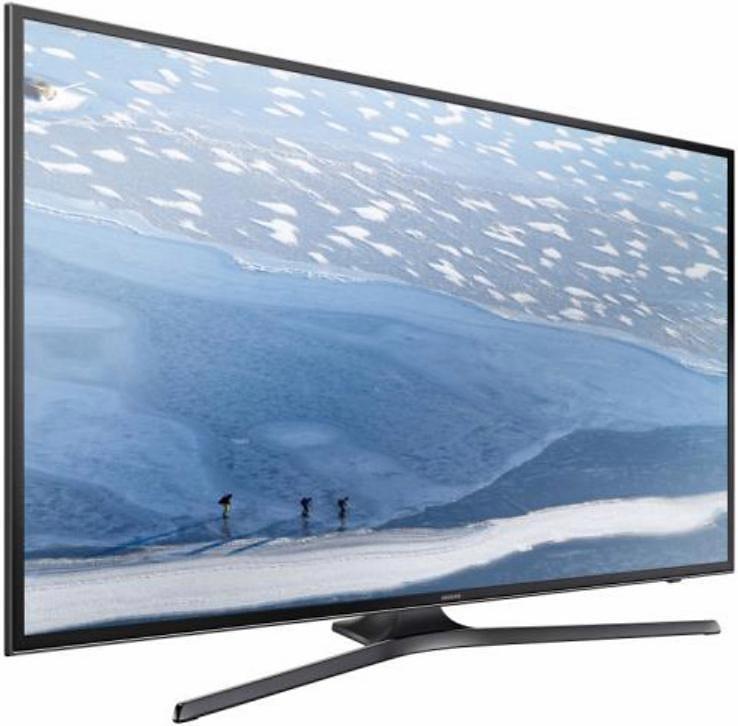 Samsung UE43KU6079UXZG, LED Fernseher, 108 cm (43 Zoll), 2160p (4K Ultra HD), Smart-TV