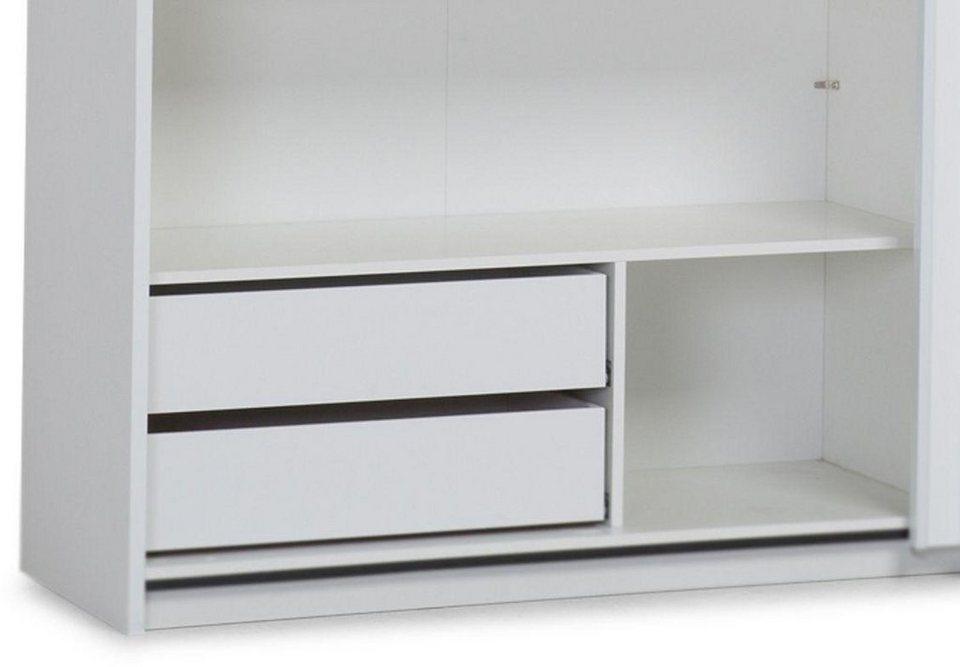 LC Schubkasteneinsatz in weiß