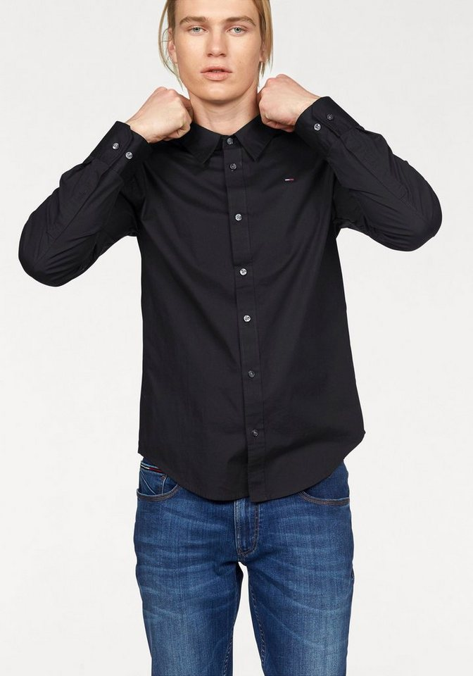Hilfiger Denim Hemd »Sabim Shirt« in schwarz