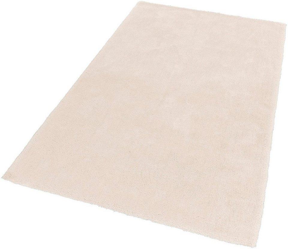 Hochflor-Teppich, Schöner Wohnen, »Vitality«, Höhe 30 mm, getuftet, Wunschmaß in creme