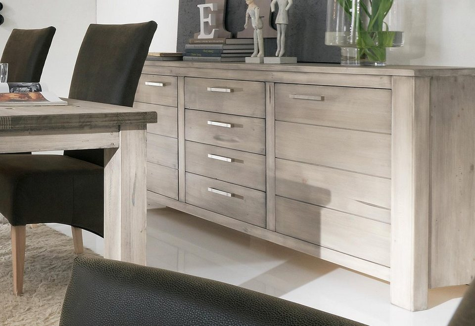 Premium collection by Home affaire Sideboard »Lucca«, Breite 187 cm in tundra