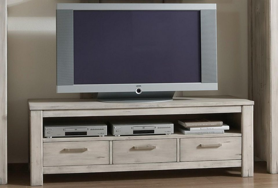 Premium collection by Home affaire TV-Lowboard »Lucca«, Breite 156 cm in tundra