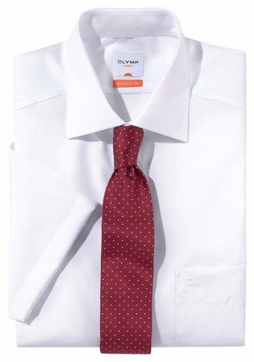 Schlussverkauf OLYMP Businesshemd »Luxor modern fit« Kentkragen bügelfrei