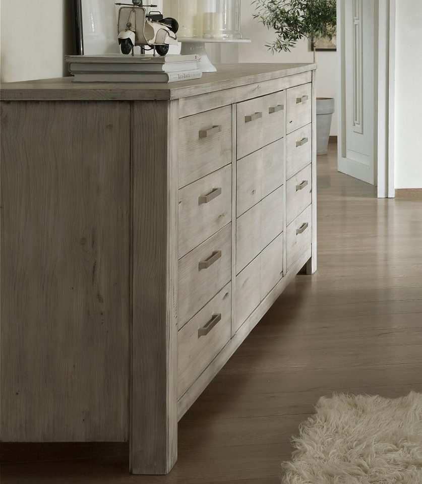 Premium Collection by Home affaire Sideboard »Lucca«, Breite 204 cm in tundra