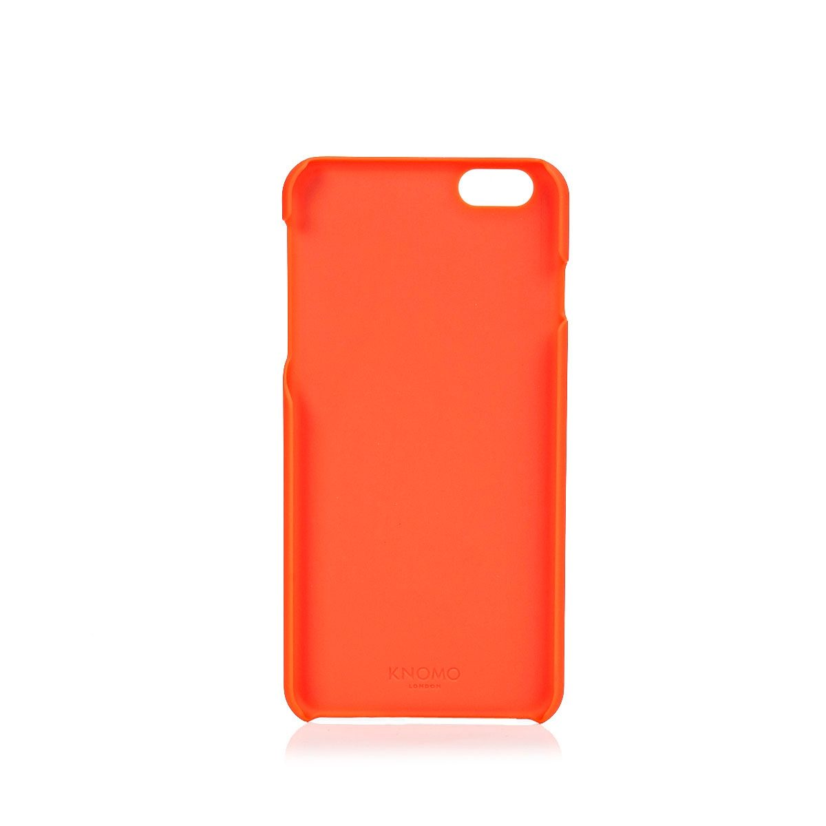 Knomo Smatphonecase Leder für iPhone 6 Plus, 6s Plus »Open Face Snap on Case «