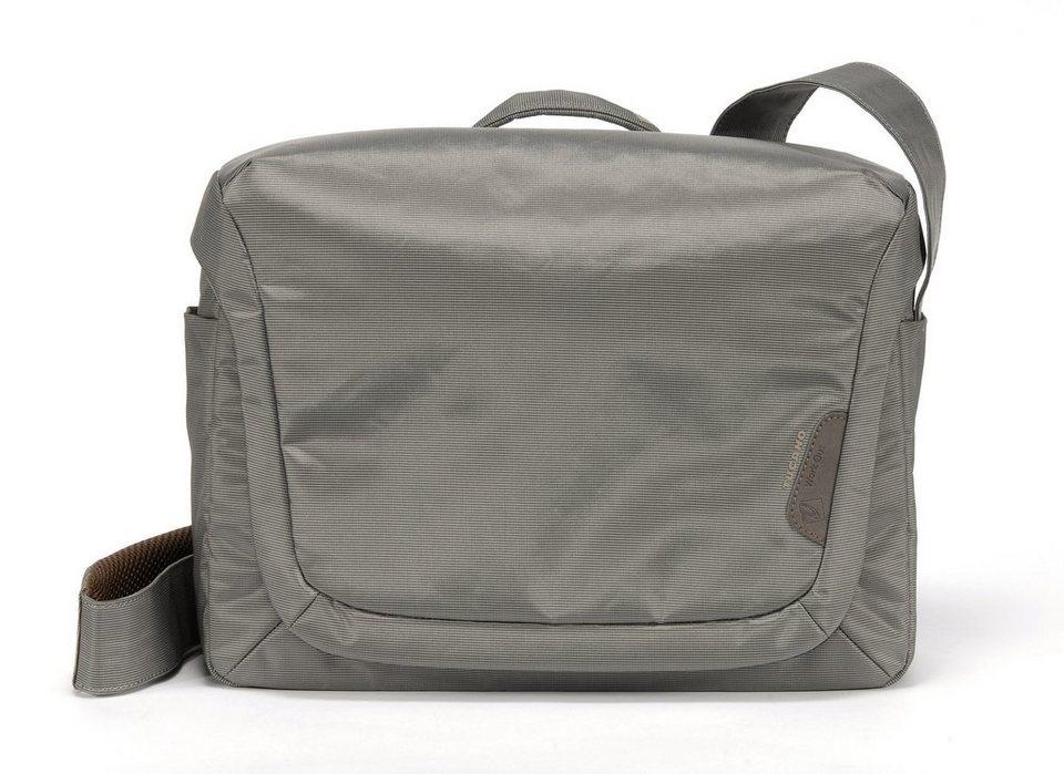 Tucano Messenger Tasche für Notebooks bis 15,4 Zoll »Expanded Work_out« in grau
