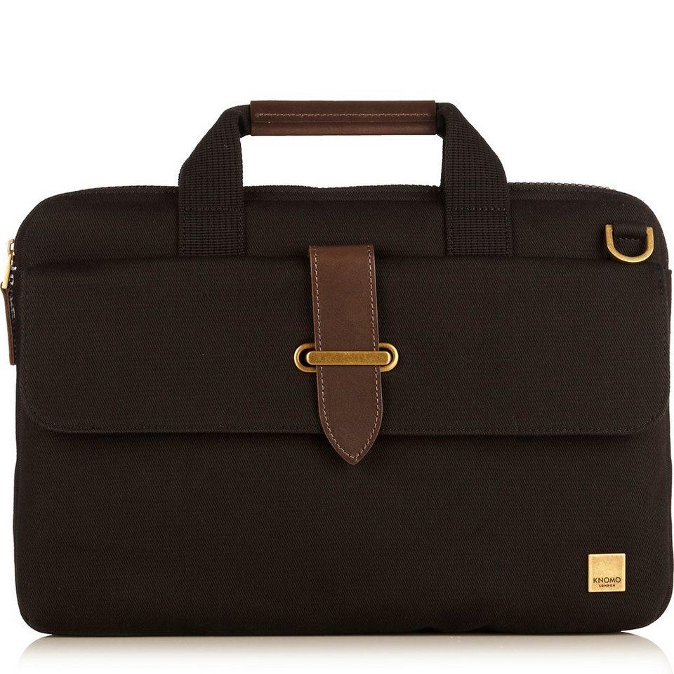 Knomo Aktentasche für 15 Zoll Laptops »Balham Par« in schwarz