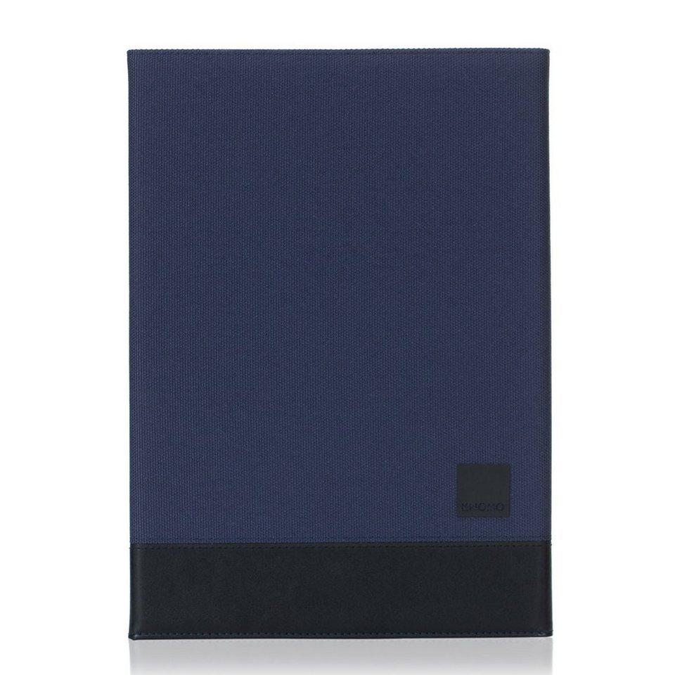 Knomo Folio mit Hartschalenclip für iPad Air 2 »Shoreditch Folio« in blau