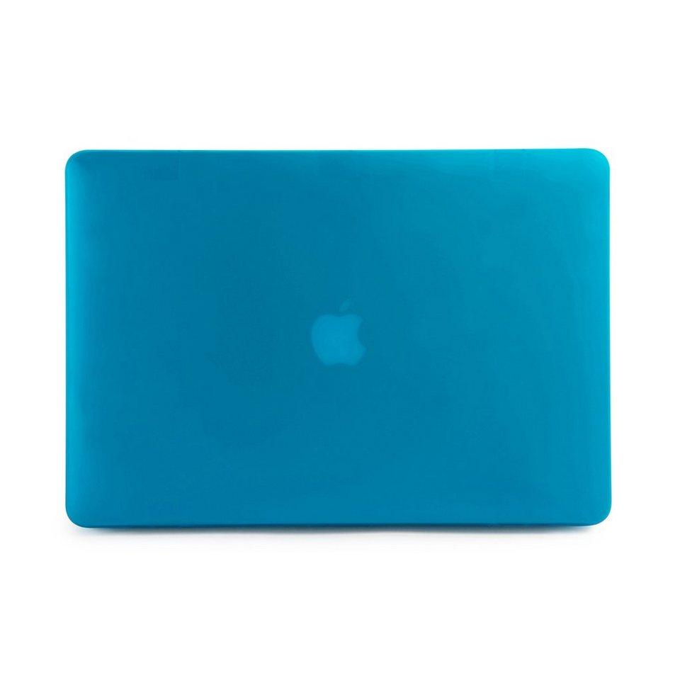 Tucano 2-teiliger Clip aus Kunststoff für MacBook Pro Retina 13 Zoll »Nido« in blau