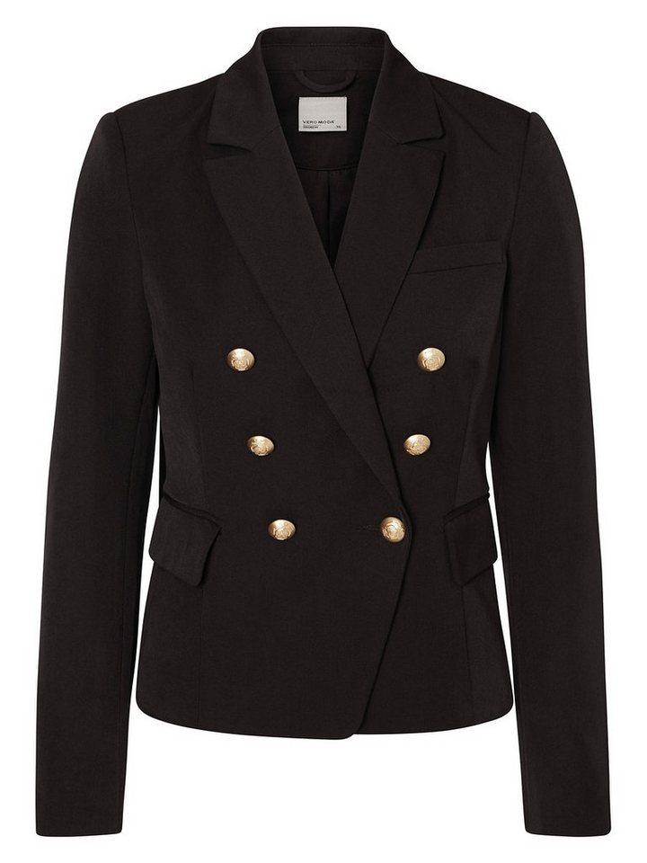 Vero Moda Militär Blazer in Black