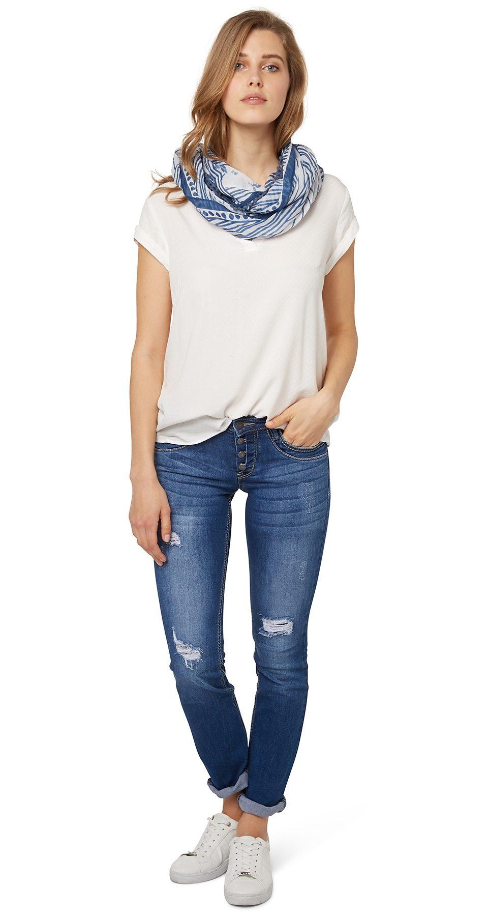 TOM TAILOR Jeans »Used-Jeans mit Destroys«