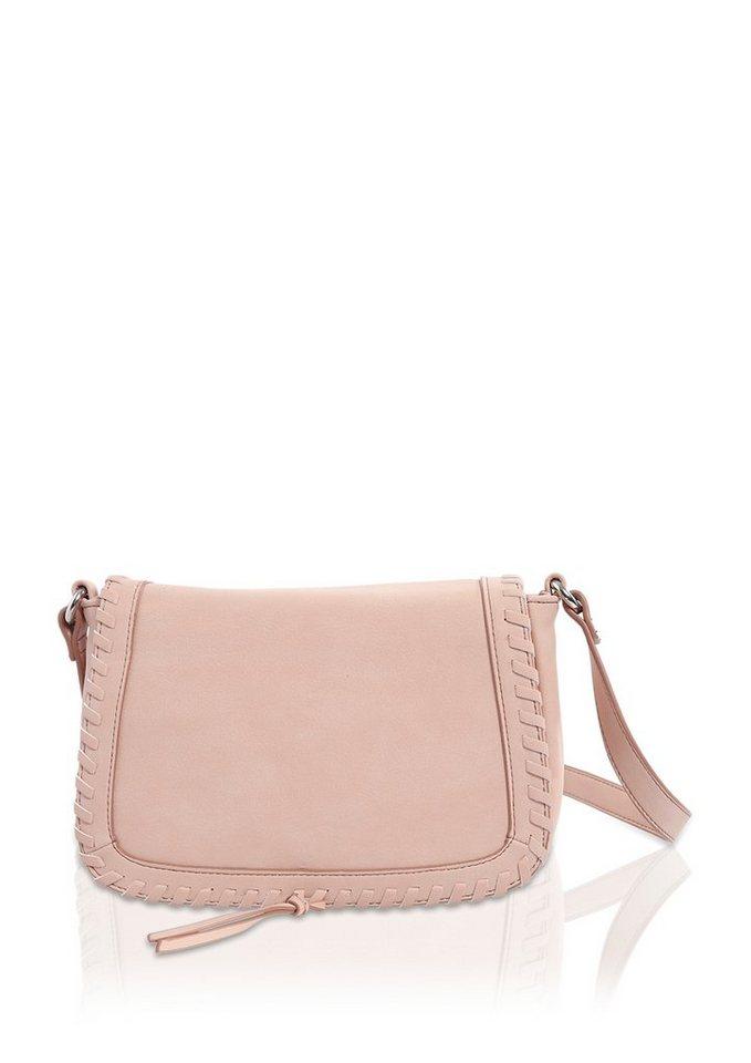 s.Oliver City Bag mit stylischer Verzierung in dusty coral