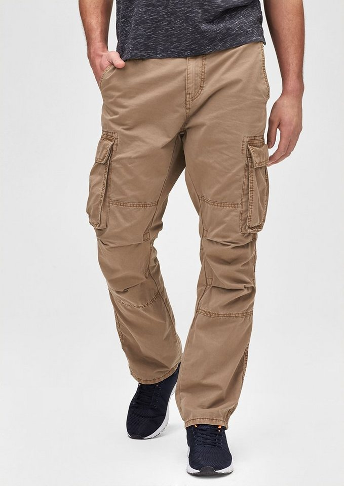 s.Oliver Scube Relaxed: Cargo Pants in stocking