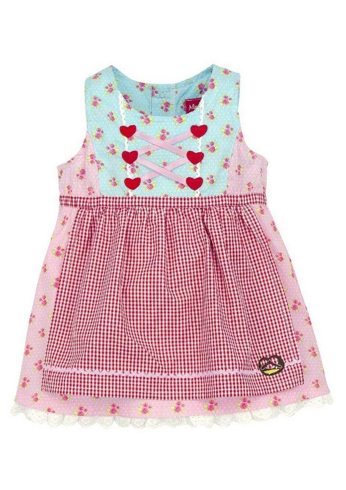 Trachtenkleid Kinder mit Zierschnürung, BONDI in rosa