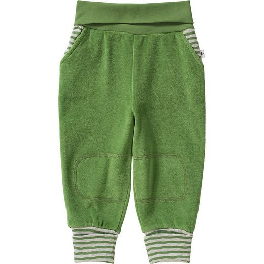 Leela COTTON Funktionshose »Baby Softbundhose aus Nicky Velours, Organic«