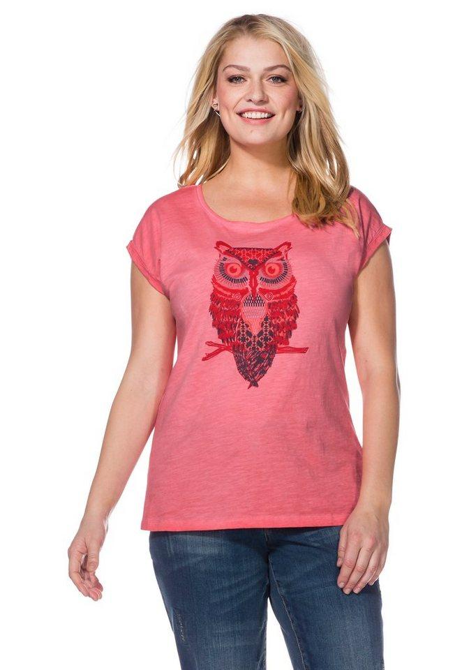sheego Casual Shirt in flamingo