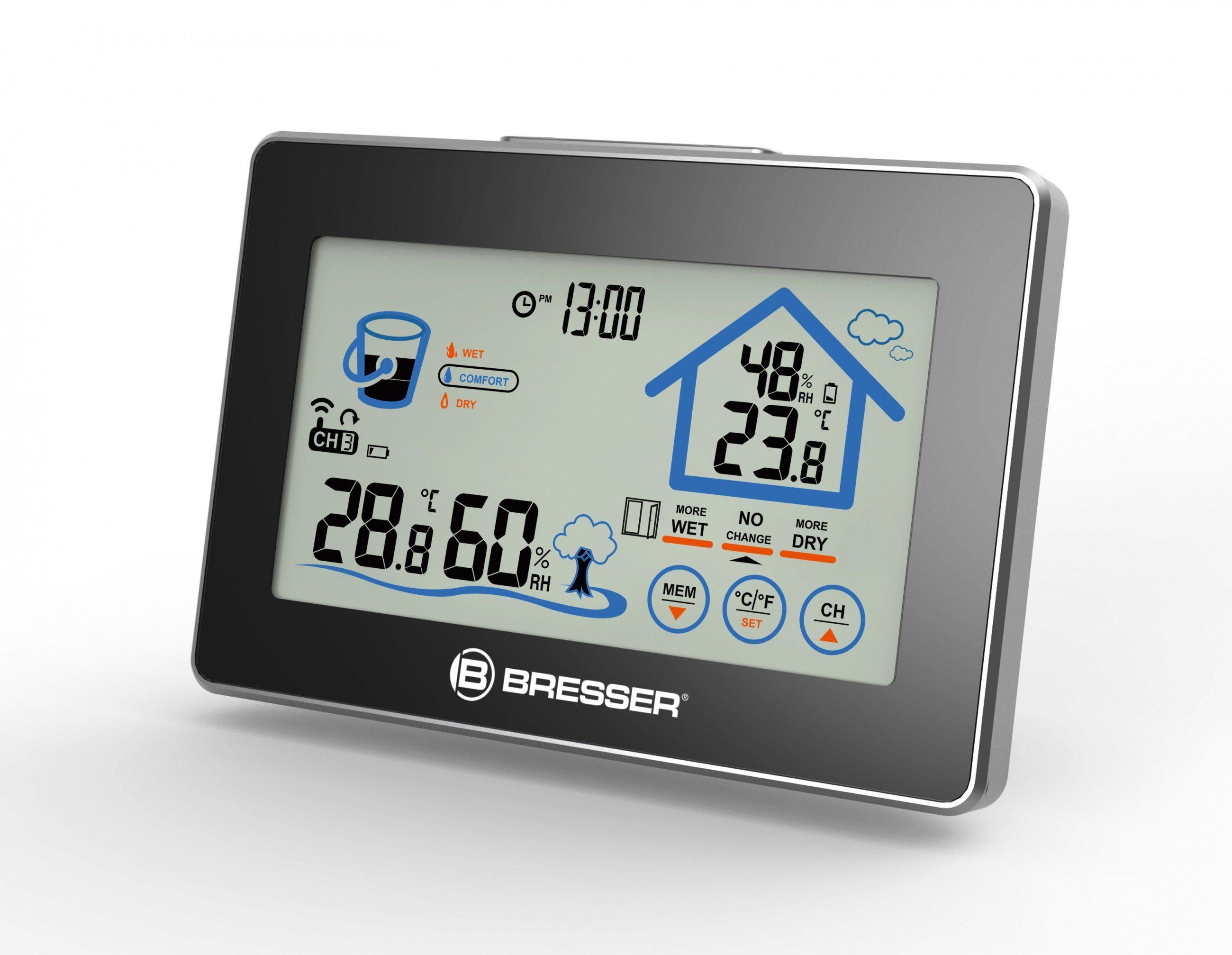 BRESSER Hygrometer »BRESSER Funk-Hygrometer mit Lüftungsempfehlung«