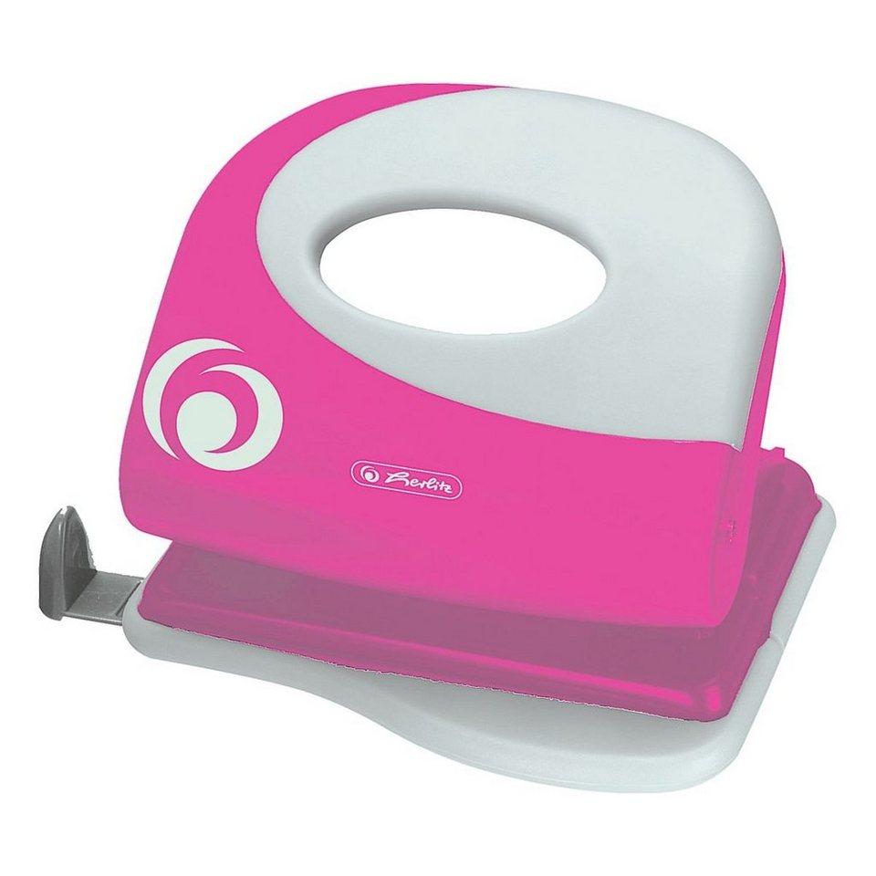 Herlitz Bürolocher in pink