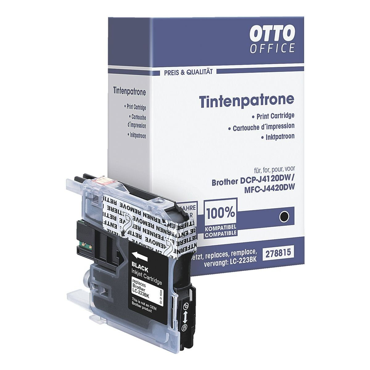 OTTO Office Standard Tintenpatrone ersetzt Brother »LC223BK«