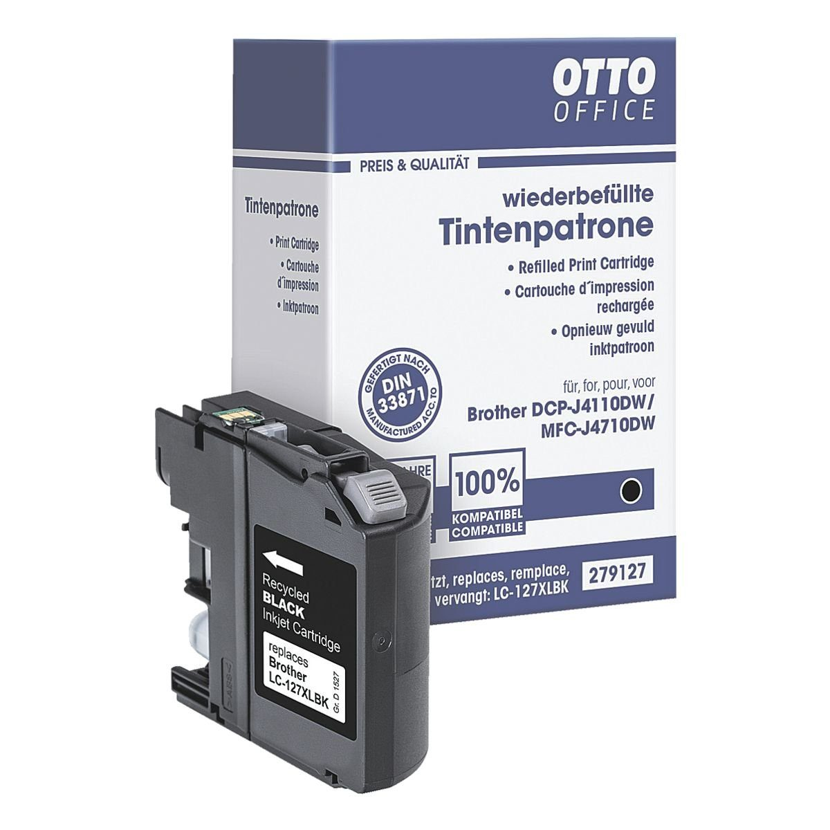 OTTO Office Tintenpatrone ersetzt Brother »LC-127XLBK«