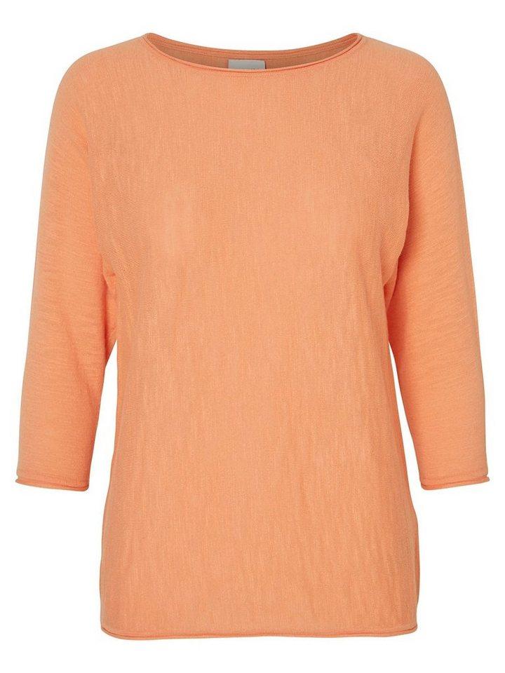 Vero Moda 3/4ärmelige Bluse in Canyon Sunset