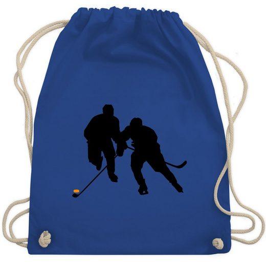 Shirtracer Turnbeutel »Eishockeyspieler - Eishockey - Turnbeutel - Jutebeutel & Taschen«