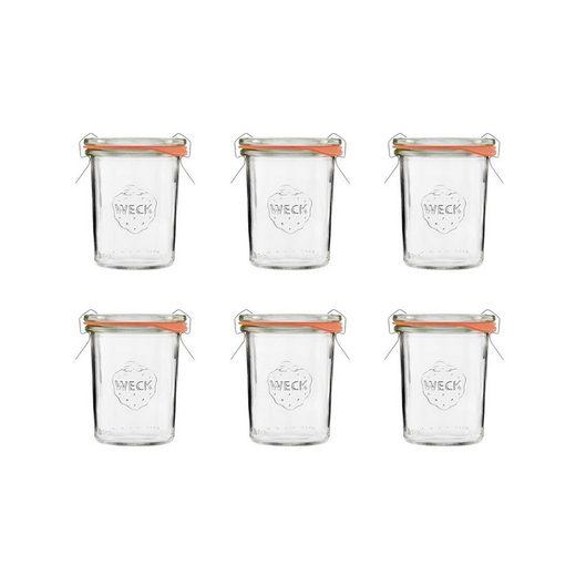 BUTLERS Einmachglas »WECK 6x Mini-Einmachglas 160ml«