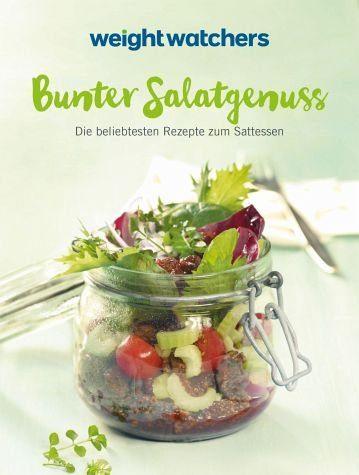 Broschiertes Buch »Weight Watchers - Bunter Salatgenuss«