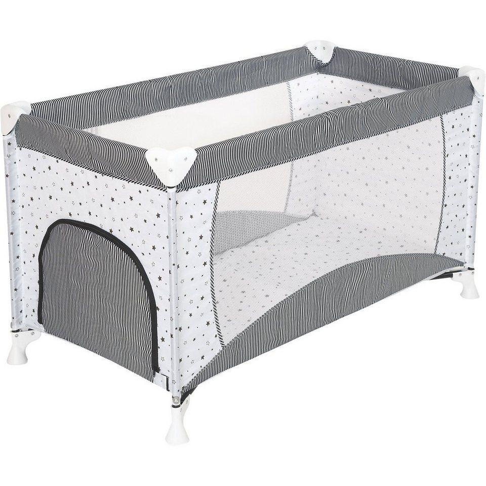 schardt reisebett sternchen grau 60 x 120 cm otto. Black Bedroom Furniture Sets. Home Design Ideas