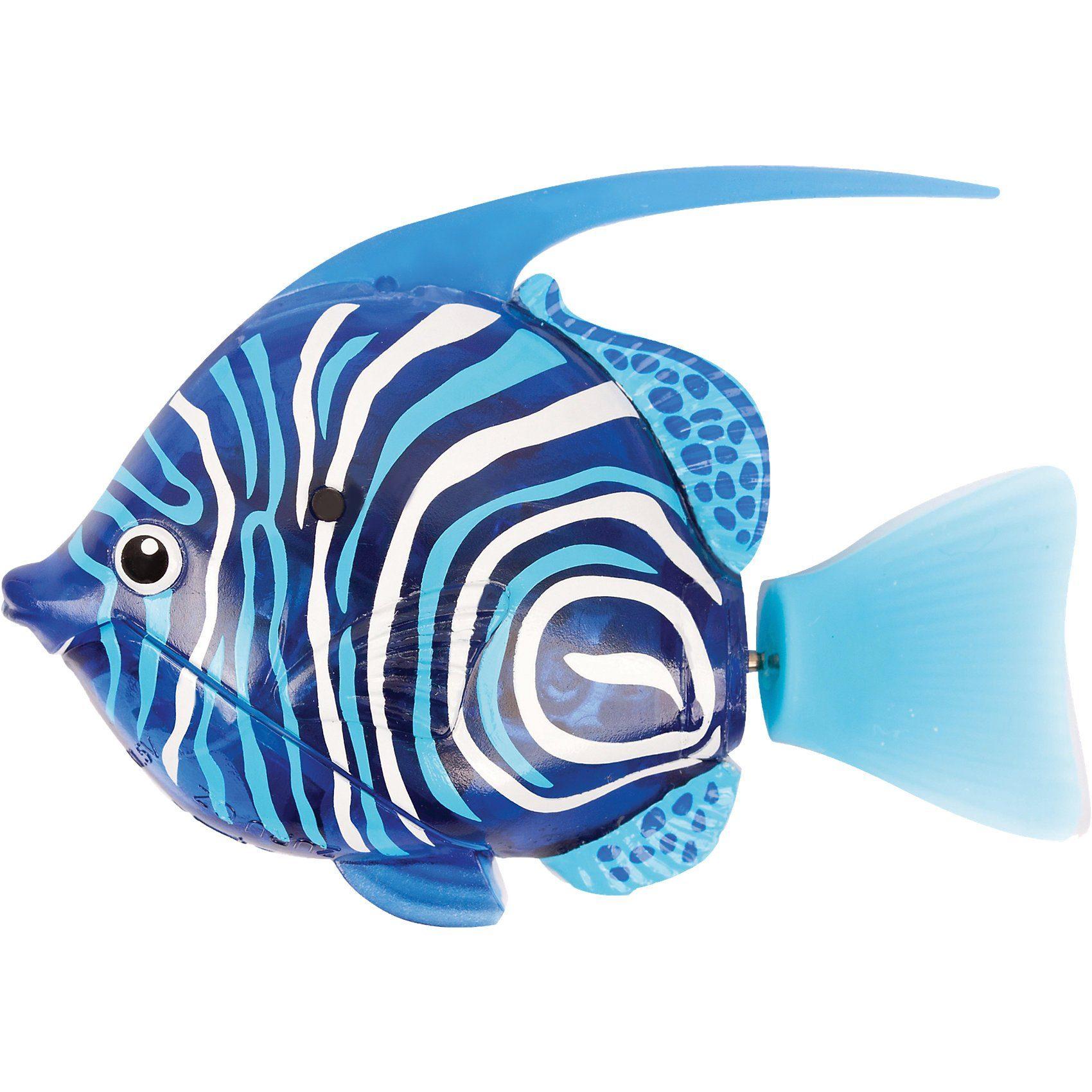 Goliath Robo Fish Tiefsee Wimplefish Blau