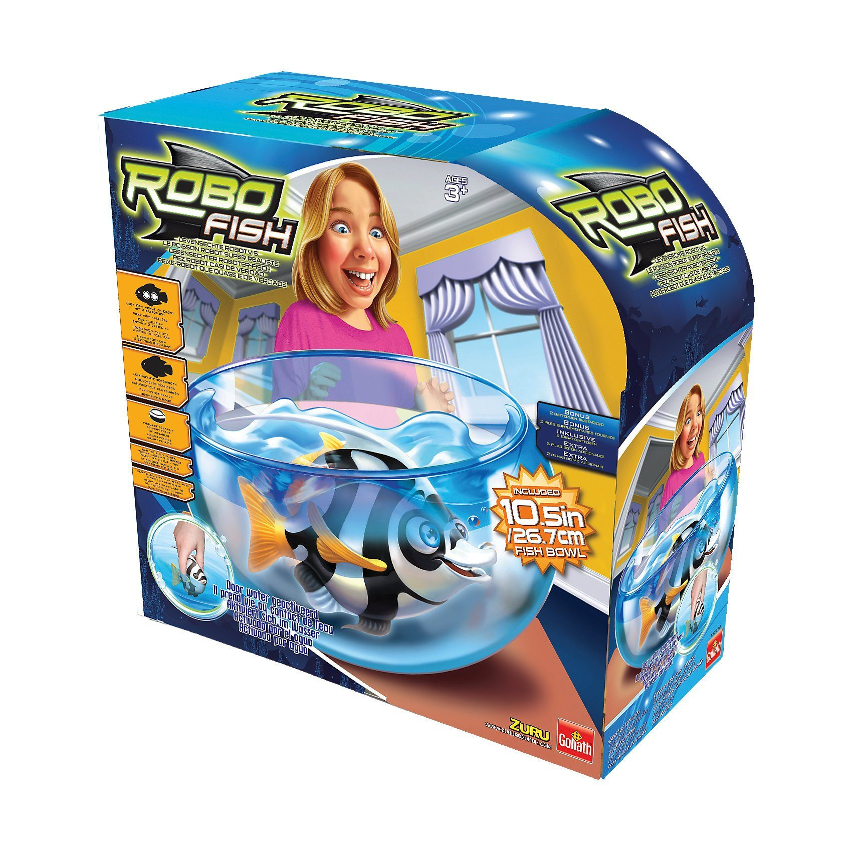 Goliath Robo Fish Tiefsee Playset