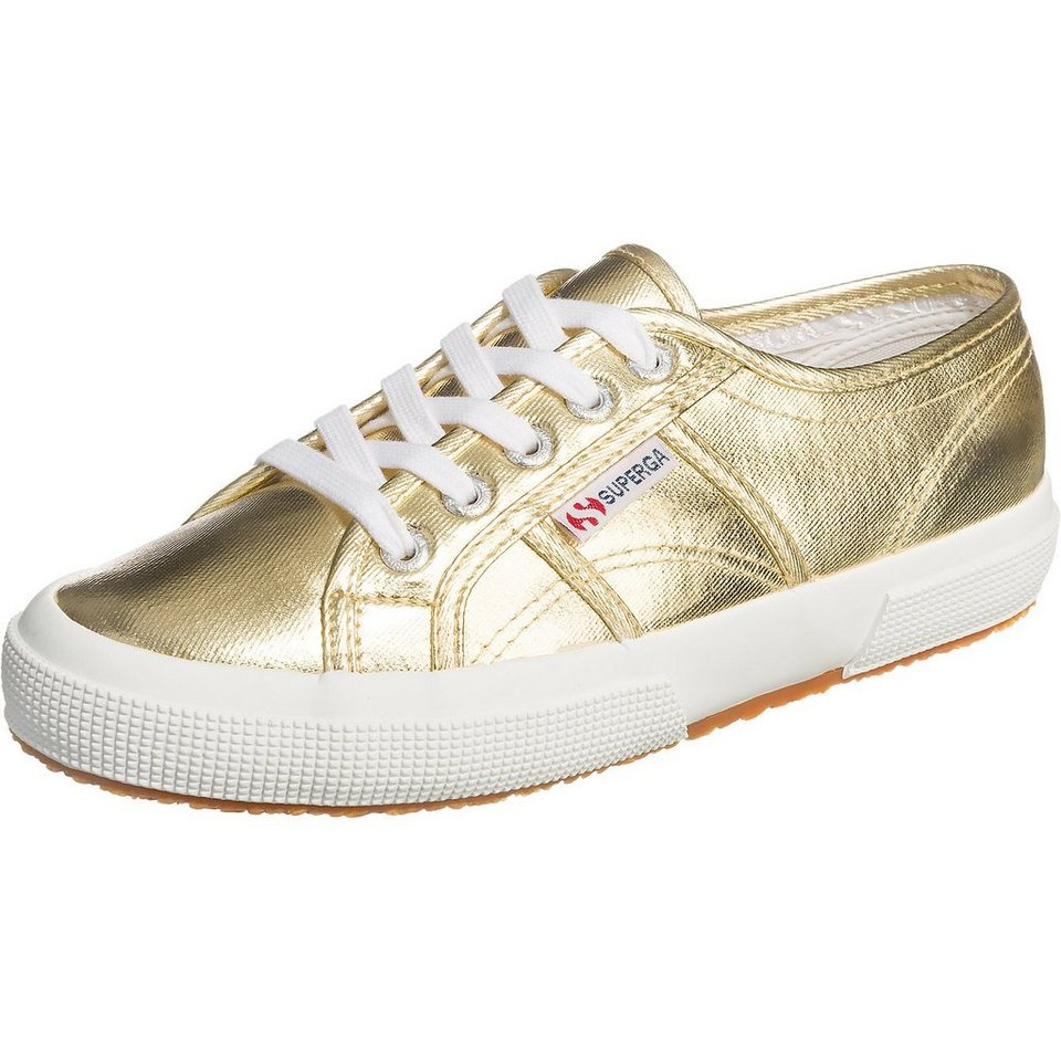 Superga® 2750-Cotmetu Sneakers in gold