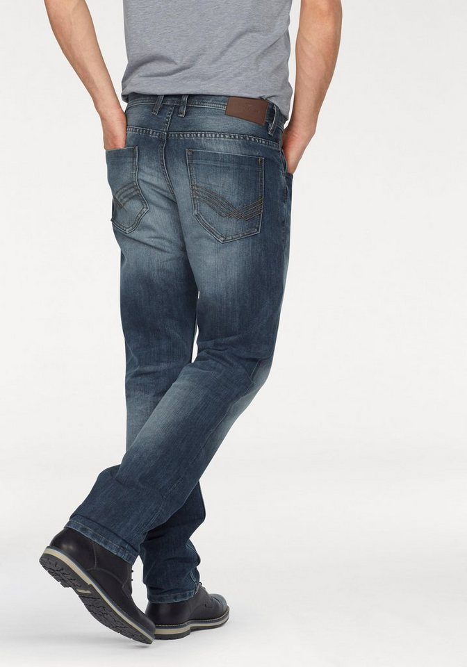 Tom Tailor 5-Pocket-Jeans »Marvin« in stone-washed